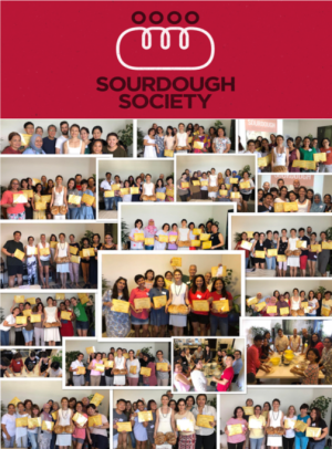 Sourdough Society 20, with logo on top